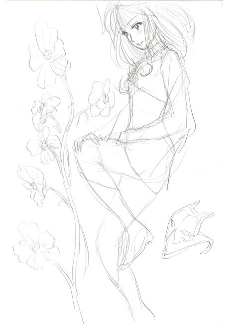 一葉と花と仮面ラフ80150.jpg